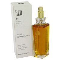 Red By Giorgio Beverly Hills 3 oz Eau De Toilette Spray Testerfor Women