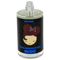Harajuku Lovers Music By Gwen Stefani 3.4 oz Eau De Toilette Spray Tester for Women