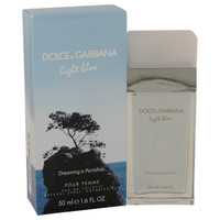 Light Blue Dreaming In Portofino By Dolce & Gabbana 1.6 oz Eau De Toilette Spray Unboxed for Women
