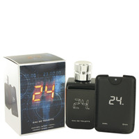 24 The Fragrance Jack Bauer By Scentstory Eau De Toilette Spray + 0.8 oz Mini Pocket Spray for Men