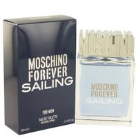 Forever Sailing By Moschino 1.7 oz Eau De Toilette Spray for Men