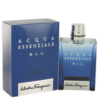 Acqua Essenziale Blu By Salvatore Ferragamo 3.4 oz Eau De Toilette Spray for Men
