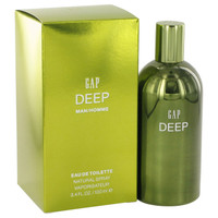 Deep By Gap 3.4 oz Eau De Toilette Spray for Men