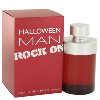 Halloween Man Rock On By Jesus Del Pozo 4.2 oz Eau De Toilette Spray for Men