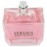 Bright Crystal By Versace 3 oz Eau De Toilette Spray Tester for Women