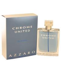 Chrome United By Azzaro 3.4 oz Eau De Toilette Spray for Men