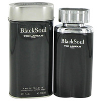 Black Soul By Ted Lapidus 3.3 oz After Shave Balm for Men