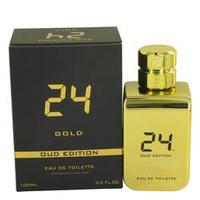 24 Gold Oud Edition By Scentstory 3.4 oz Eau De Toilette Concentree Spray for Men