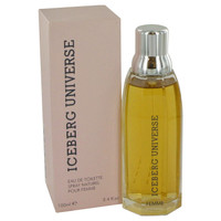 Universe By Iceberg 3.4 oz Eau De Toilette Spray for Women
