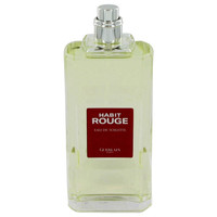 Habit Rouge By Guerlain 3.4 oz Eau De Toilette Spray Tester for Men