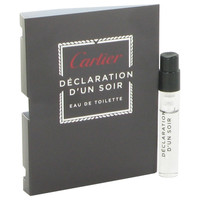 Declaration D'Un Soir By Cartier .05 oz Vial Sample for Men