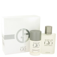 Acqua Di Gio By Giorgio Armani Gift Set with Deodorant Stick for Men
