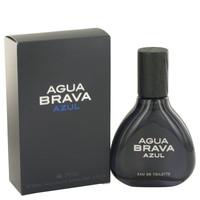 Agua Brava Azul By Antonio Puig 3.4 oz Eau De Toilette Spray for Men
