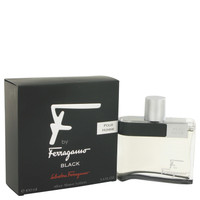 F Black By Salvatore Ferragamo 3.4 oz After Shave Lotion for Men