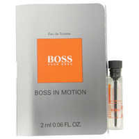 Boss In Motion By Hugo Boss .05 oz Vial Sample for Men