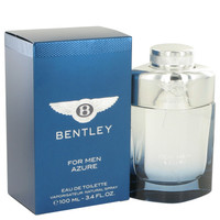 Azure By Bentley 3.4 oz Eau De Toilette Spray for Men