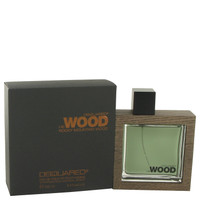 He Wood Rocky Mountain Wood By Dsquared2 3.4 oz Eau De Toilette Spray for Men