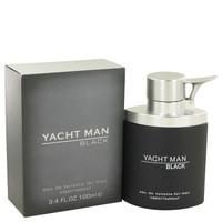 Yacht Man Black By Myrurgia 3.4 oz Eau De Toilette Spray for Men