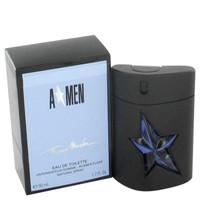 Angel By Thierry Mugler 1.7 oz Eau De Toilette Spray Refillable (Rubber Flask) for Men