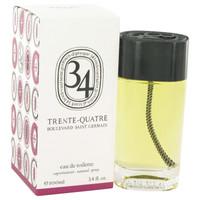 34 Boulevard Saint Germain By Diptyque 3.4 oz Eau De Toilette Spray Unisex