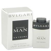 Man Extreme By Bvlgari .17 oz Mini EDT for Men