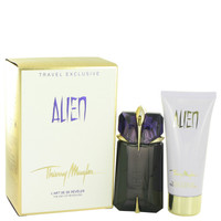 Alien By Thierry Mugler Gift Set with Eau De Parfum Spray Refillable for Women