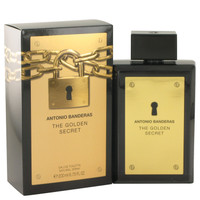 The Golden Secret By Antonio Banderas 6.7 oz Eau De Toilette Spray for Men