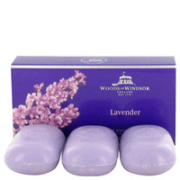 Lavender By Woods Of Windsor Fine English Soap 3 X 100G for Women