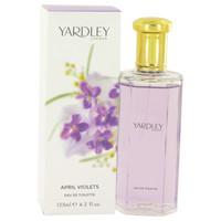 April Violets By Yardley London 4.2 oz Eau De Toilette Spray for Women