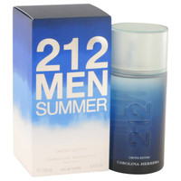 212 Summer By Carolina Herrera 3.4 oz Eau De Toilette Spray (Limited Edition) for Men