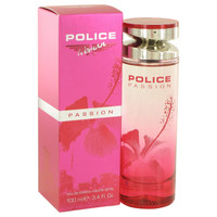 Passion By Police Colognes 3.4 oz Eau De Toilette Spray for Women