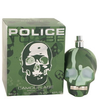 To Be Camouflage By Police Colognes 4.2 oz Eau De Toilette Spray (Special Edition) for Men