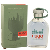 Hugo By Hugo Boss 4.2 oz Eau De Toilette Spray (Limited Edition Music Bottle) for Men