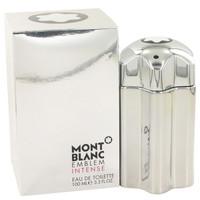 Emblem Intense By Mont Blanc 3.4 oz Eau De Toilette Spray for Men