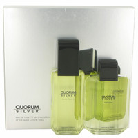 Quorum Silver By Puig Gift Set for Men