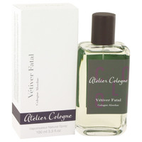 Vetiver Fatal By Atelier Cologne 3.3 oz Pure Perfume Spray for Men