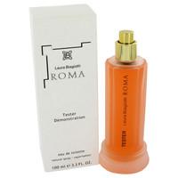 Roma by Laura Biagiotti 3.4 oz Eau De Toilette Spray Tester for Women