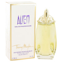 Alien Eau Extraordinaire by Thierry Mugler 2 oz Eau De Toilette Spray Refillable for Women