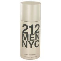 212 By Carolina Herrera 5 oz Deodorant Spray for Men