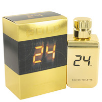 24 Gold The Fragrance by ScentStory 3.4 oz Eau De Toilette Spray for Men