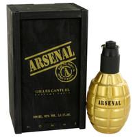 Arsenal Gold by Gilles Cantuel 3.4 oz Eau De Parfum Spray for Men