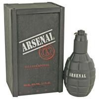Arsenal Black by Gilles Cantuel 3.4 oz Eau De Parfum Spray for Men