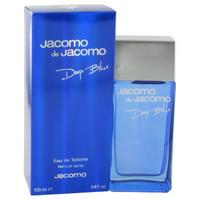 Deep Blue by Jacomo 3.4 oz Eau De Toilette Spray for Men