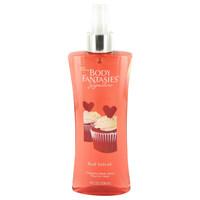 Body Fantasies Signature Red Velvet By Parfums De Coeur 8 oz Body Spray for Women