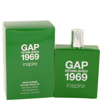 1969 Inspire By Gap 3.4 oz Eau De Toilette Spray for Men