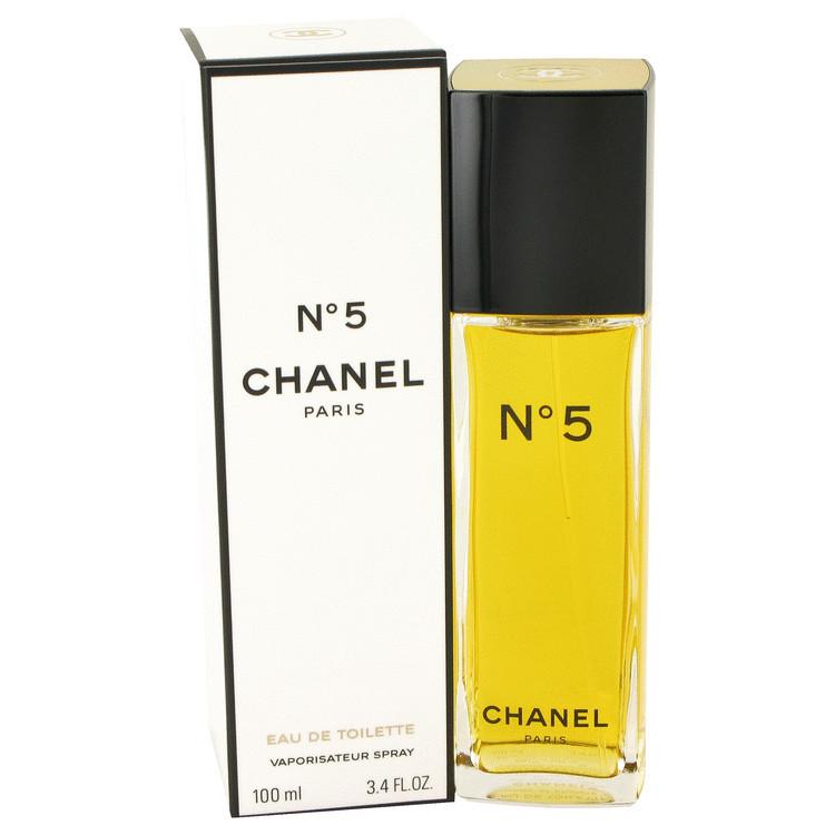 Chanel 5 By Chanel 34 Oz Eau De Toilette Spray For Women