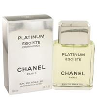 Egoiste Platinum by Chanel 3.4 oz Eau De Toilette Spray for Men