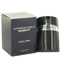 Unpredictable Night By Glenn Perri 3.4 oz Eau De Toilette Spray for Men