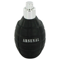 Arsenal Black By Gilles Cantuel 3.4 oz Eau De Parfum Spray Tester for Men