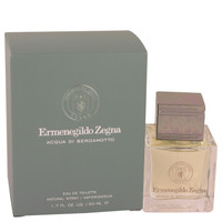Acqua Di Bergamotto By Ermenegildo Zegna 1.7 oz Eau De Toilette Spray for Men